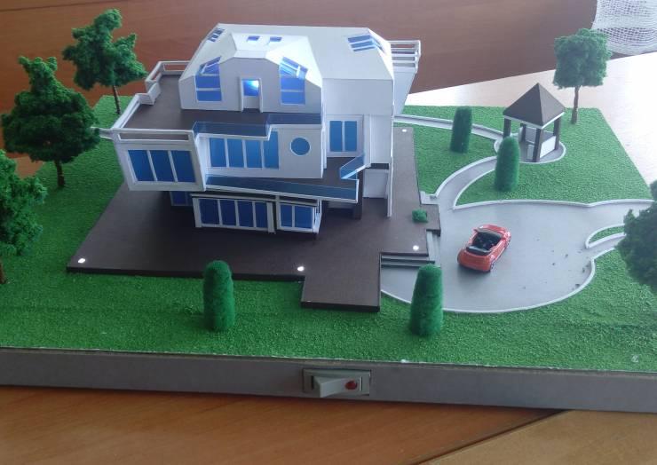 Архитектурный конкурс макетов